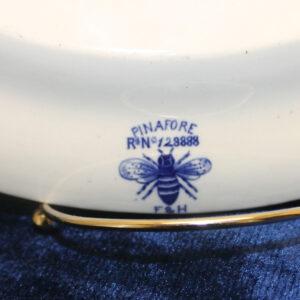 1889 Forester & Hume Blue & White Transferware Ironstone Platter