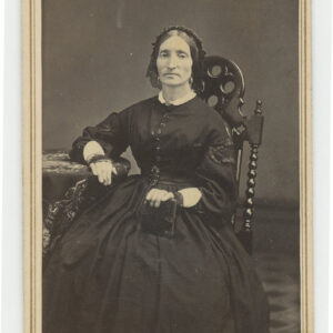 19th century Mourning CDV – mourning bands, photo album, more
