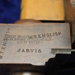John Moseley & Son Plow Plane 1862-1894 Bloomsbury, London