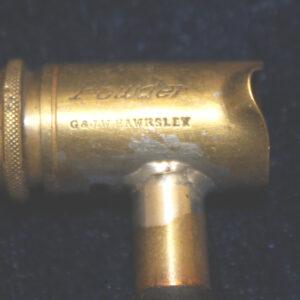 G. & J.W. Hawksley Gun Powder Measure With Handle – 19th century