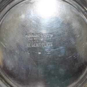 Antique Regency Silverplate Engish Teapot , Garrard & Co., London