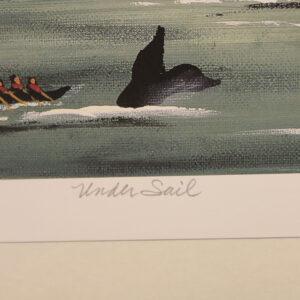 "Marianne Stillwagon Signed, Limited Edition Print -""Under Sail"" – 72/500"