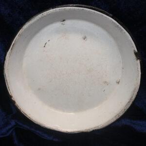 Rare Chrysolite Graniteware/Enamelware Pie Pan