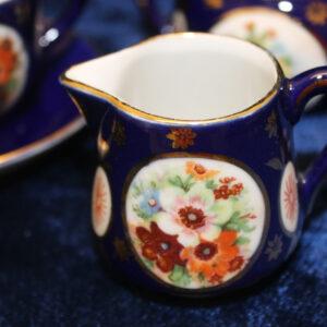 Cobalt & Gold Child's 4 Piece Tea Set – vibrant colors
