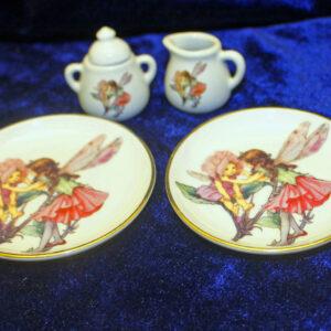 German Child's Tea Set Pieces – The Flower Fairies Collection