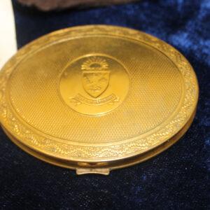 1950s Peninsular & Oriental Steam Navigation Co. (P & 0) — women's compact