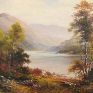 Signed George Willis Pryce Oil – British painter 1866-1949