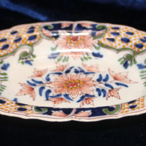 Antique Colorful Earthenware Trinket Tray – Makxum potteries