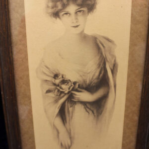 Signed Zula Kenyon Print – mesmerizing young woman, must see!